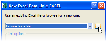 Linking Excel and AutoCAD with Data Links 041307 1647
