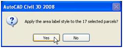Composing Parcel Label Styles in Civil 3D 2008 082607 0128 composingpa10