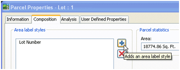 Composing Parcel Label Styles in Civil 3D 2008 082607 0128 composingpa3