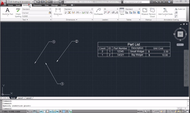 Dynamically Combine AutoCAD Data Extraction Tables with Excel Tables