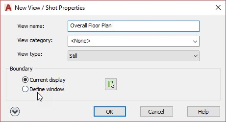 Sheet Setup Made Easy with AutoCAD 2018.1 Views and Viewports AutoCAD 2018.1 New View Properties