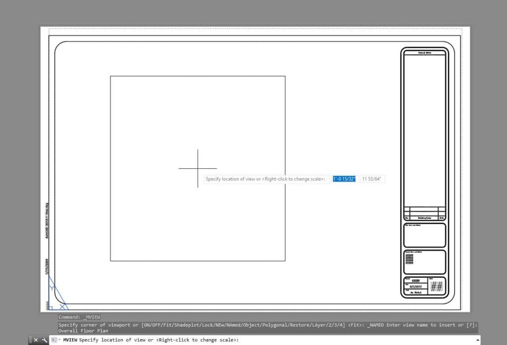 Sheet Setup Made Easy with AutoCAD 2018.1 Views and Viewports AutoCAD 2018.1 Place View