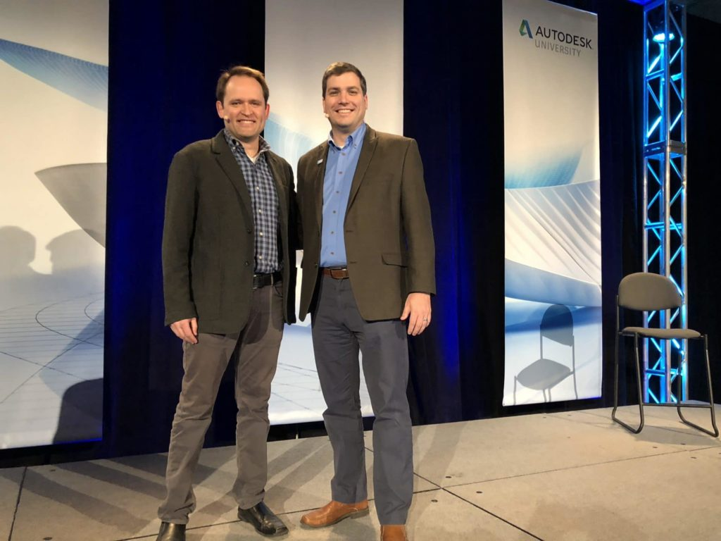The Top-Rated Sessions of Autodesk University 2017 jason kunkel donnie gladfelter