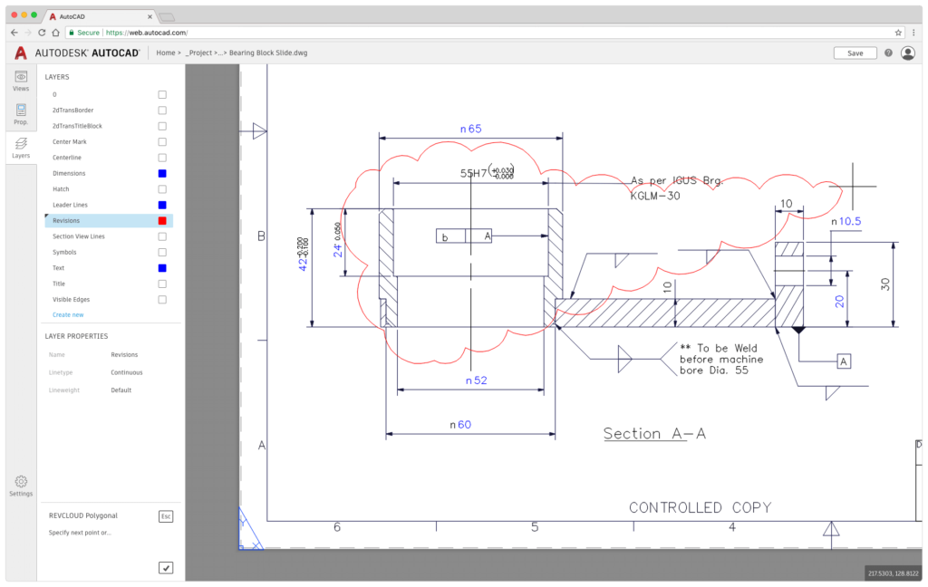 A First Look at What's New in AutoCAD 2019 AutoCAD Web Layers