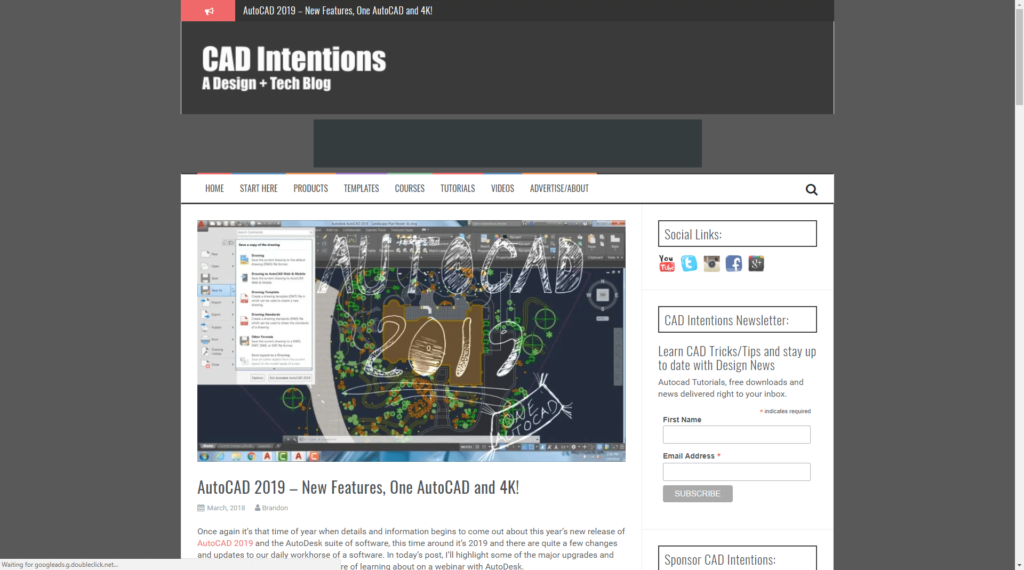 CAD Intentions